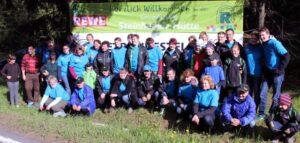Rennsteiglauf 2014 – Verpflegung an der Steinheider Hütte