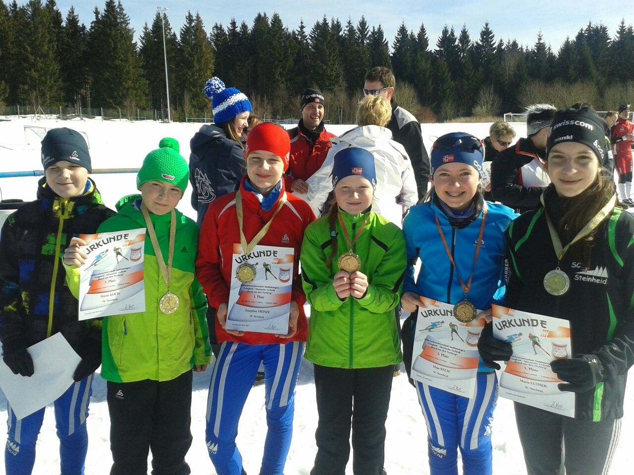 Erfolgreiche Skibezirksmeisterschaften