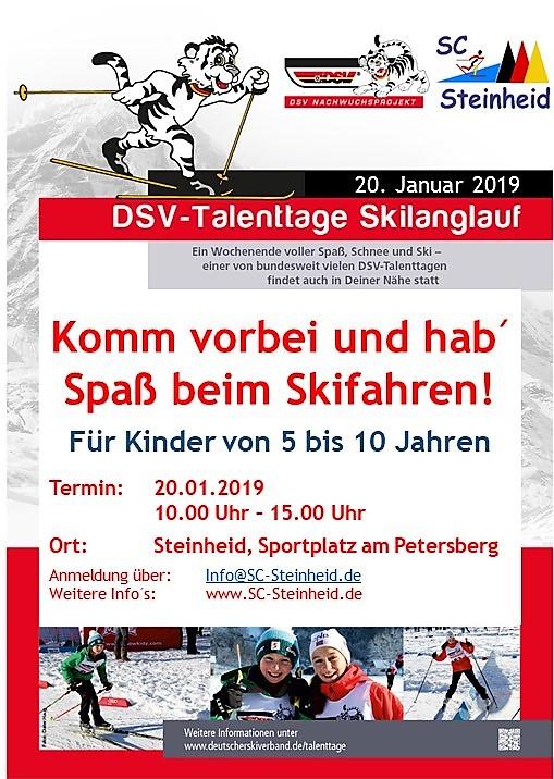 Talenttag 2019 in Steinheid